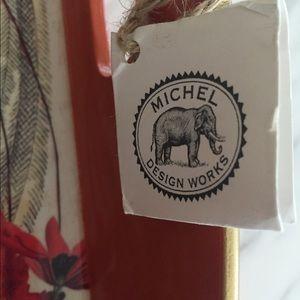 michel design works Accents - Michel Design Works Orange Lacquer Tray